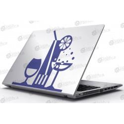 Laptop Matrica - Koktél bár