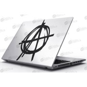 Laptop Matrica - Anarchia