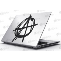 Laptop Matrica - Anarchia