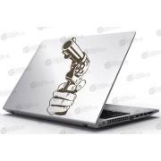 Laptop Matrica - Fegyveres kéz