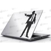 Laptop Matrica - A fegyveres férfi