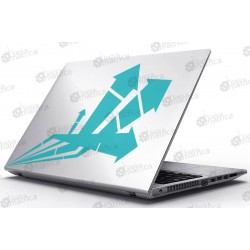 Laptop Matrica - Tűzijáték