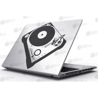 Laptop Matrica - Lemezjátszó