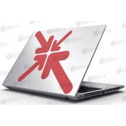 Laptop Matrica - Egyszerű és modern