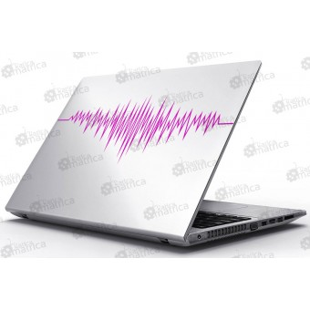 Laptop Matrica - Életjel