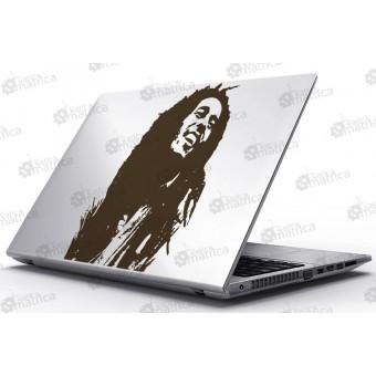 Laptop Matrica - Bob Marley