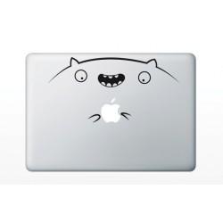 Macbook matrica - Vidám hörcsög