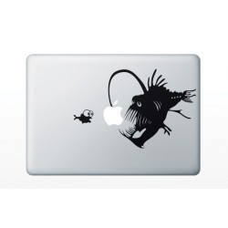 Macbook matrica - Mélytengeri ragadozó