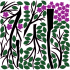 Törpe fa - Színes matrica csomag