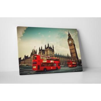 London - Vakrámás vászonkép - 45x60 cm