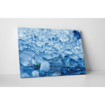 Modrý led