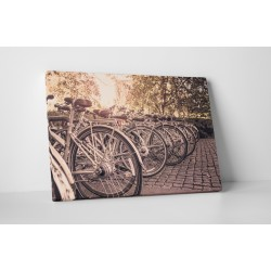 Leparkolt biciklik
