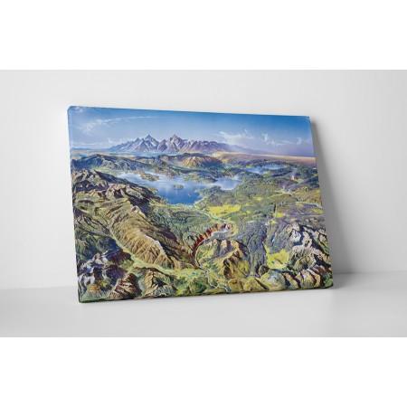 Csodás hegyvidék - 25x35cm - AKCIÓ