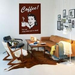 Kávézó hölgy