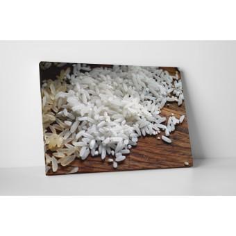 Barna és fehér rizs
