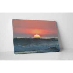 Hullámok és naplemente