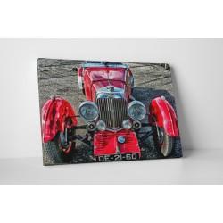 Piros oldsmobil