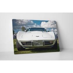 Fehér Corvette