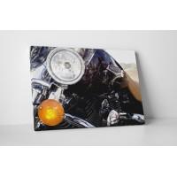 Krómozott Harley Davidson