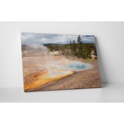 Yellowstone gejzírek