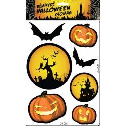 Rémisztő Halloween - Matrica csomag