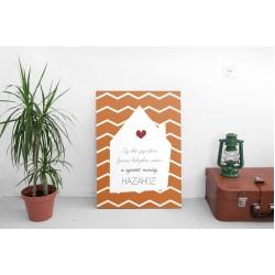 A szeretet hazahoz - 45x60 cm - Vászonkép