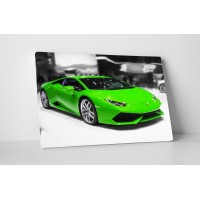 Zöld Lamborghini