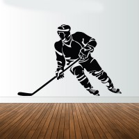 Hockey játékos