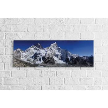 Mount Everest - Panoráma vászonkép