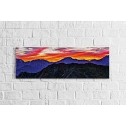 Csodálatos égbolt - Panoráma vászonkép