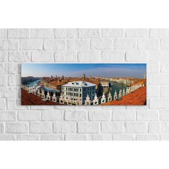 Velence - Panoráma vászonkép