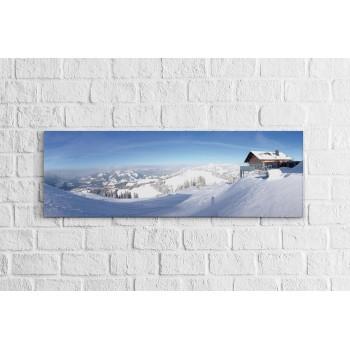 Havas táj - Panoráma vászonkép