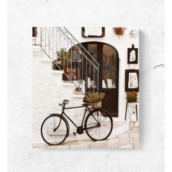 Régi bicikli - 25x35 cm - AKCIÓ!