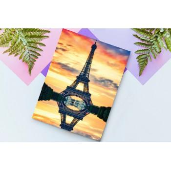 Párizsi naplemente - 25x35 cm - AKCIÓ!