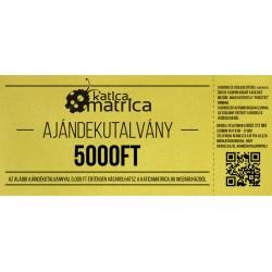 Ajándék kártya 5000FT