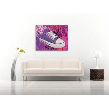 Foszforeszkáló cipő - 45x60 cm - AKCIÓ!