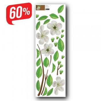Virágzó ágacska - színes matrica csomag