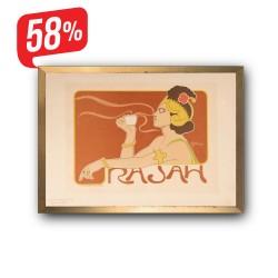 Rajah - Arany díszkeretes vászonkép - 35x50 cm