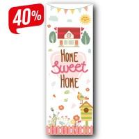 Sweet Home - Vászonkép -25x70 cm