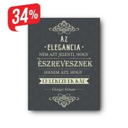 Elegancia - Vászonkép - 25x35 cm