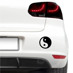 Autós matrica - Yin Yang