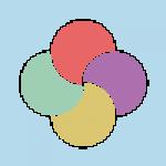 Multicolor matricák