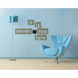It is never too late - falióra
