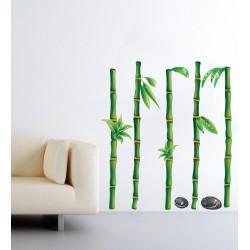 Bambusz ültetvény - Színes matrica csomag
