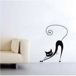 Nyújtózó cica