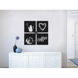 Kávé szerelem + falióra