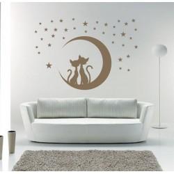 Holdfényes cica romantika