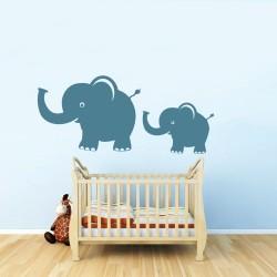 Nagy és kis elefánt