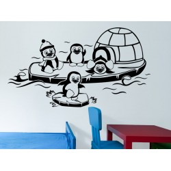 Pingvinek a jégen