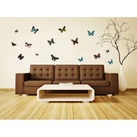 A tavasz pillangói - Színes matrica csomag